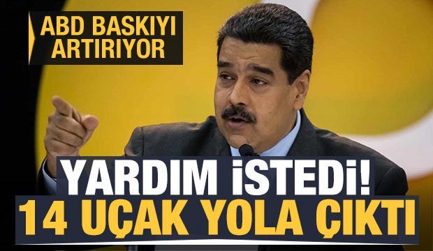 Maduro, İran'dan yardım istedi