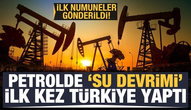 Petrolde 'su' devrimi: İlk kez Türkiye'de uygulandı