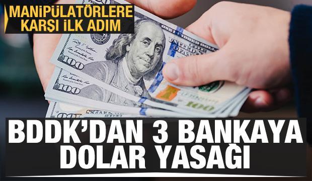 BDDK'dan üç bankaya işlem yasağı