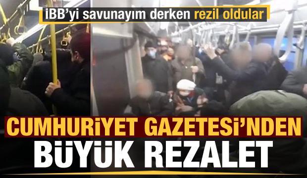 Cumhuriyet Gazetesi'nden skandal haber! Kendilerini rezil ettiler