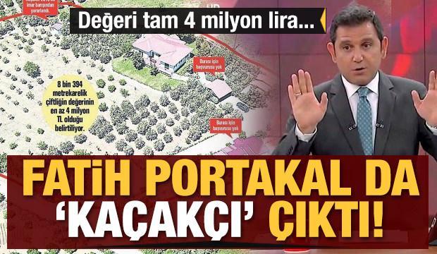 Fatih Portakal da 'kaçakçı' çıktı! Değeri tam 4 milyon lira