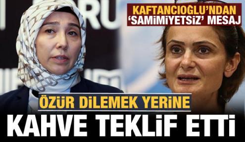 Fatmanur Altun, özürden kaçan Kaftancıoğlu'na ders verdi!