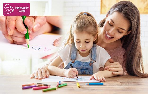 Çocuklara kalem tutturma yöntemi!