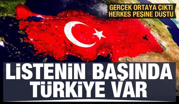 Gerçek ortaya çıktı, herkes peşine düştü! Türkiye liste başında
