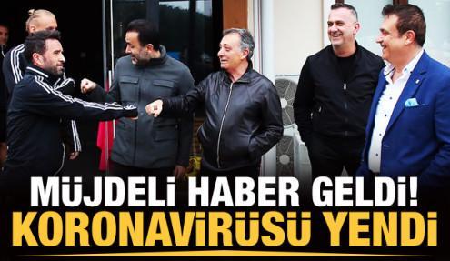 Ahmet Nur Çebi koronavirüsü yendi