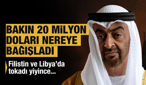 Bakın 20 milyon doları nereye bağışladı! Filistin ve Libya'da tokadı yiyince…