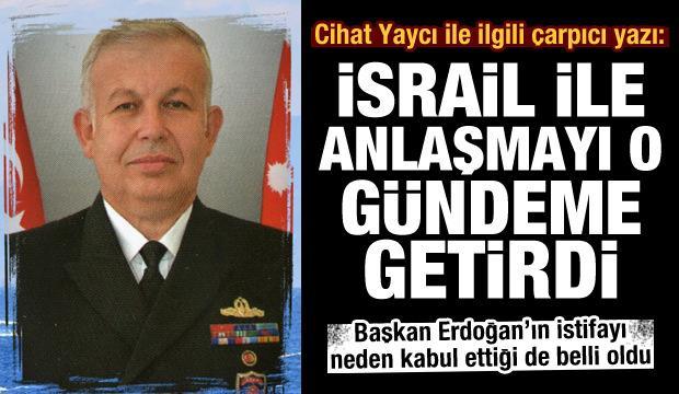 Cumhurbaşkanı Erdoğan'ın Cihat Yaycı'nın istifasını neden kabul ettiği ortaya çıktı
