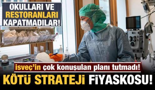 İsveç'in çok konuşulan planı tutmadı: 'Sürü bağışıklığı' fiyaskosu!