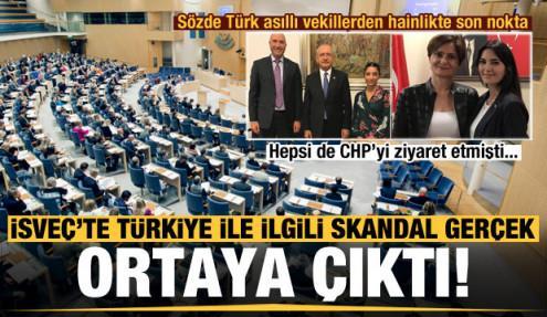 İsveç'te Türk asıllı vekillerden küstah öneri!