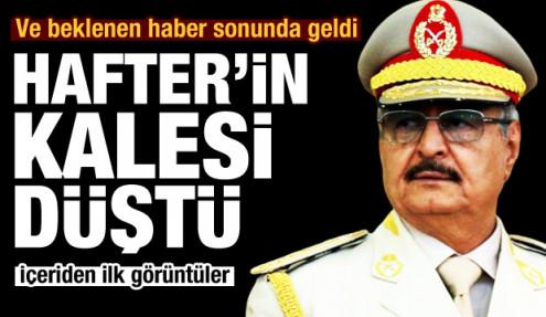 Türkiye'nin desteklediği Libya Ordusu, Hafter'in kalesi Vatiyye Üssü'nü ele geçirdi