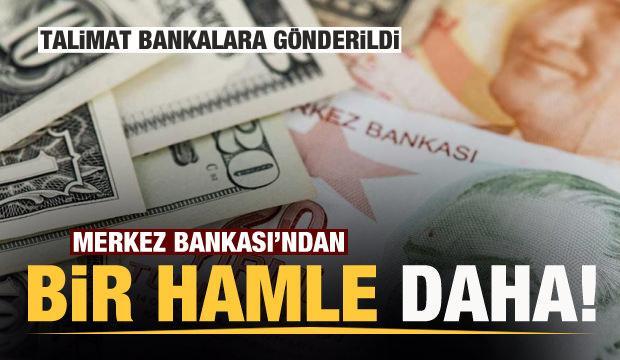 Merkez Bankası'ndan yeni karar! Bankalara talimat gönderildi
