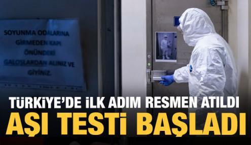 Türkiye aşı denemelerine resmen başladı! Koronavirüste son dakika