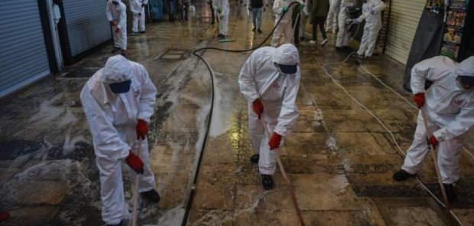 1 Haziran'da açılacak Kapalıçarşı dezenfekte edildi