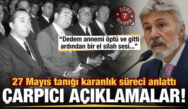 27 Mayıs'ın tanığı Prof. Dr. Mim Kemal Öke karanlık süreci anlattı!