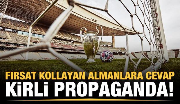 Almanların kirli propagandasına Nihat Özdemir'den cevap!