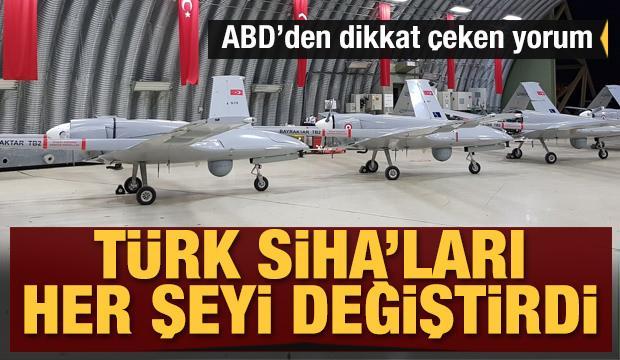 ABD'den dikkat çeken yorum! Türk SİHA'ları her şeyi değiştirdi