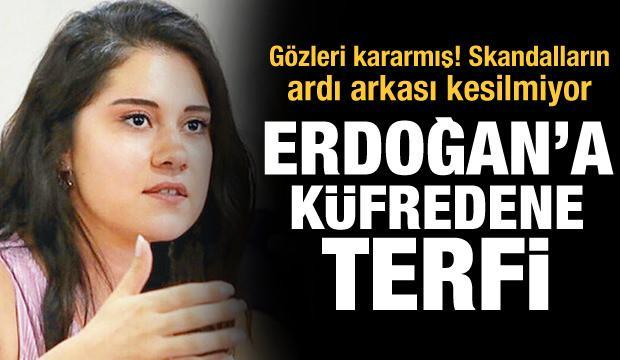 Skandalların ardı arkası kesilmiyor! Erdoğan'a küfredene terfi