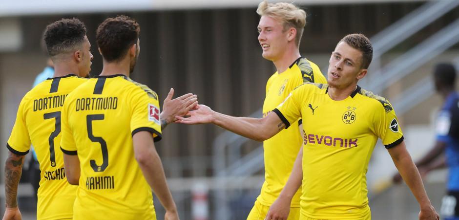 Dortmund ikinci yarıda çıldırdı!
