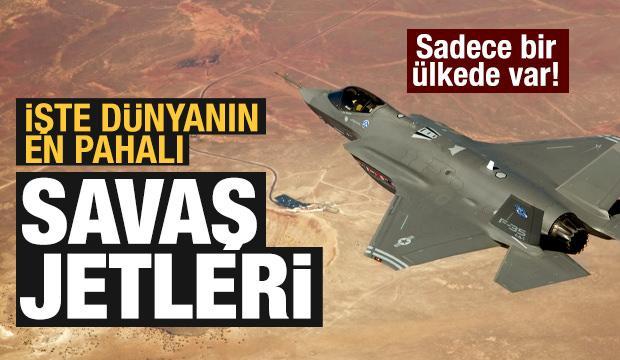 En pahalı savaş jetlerine sahip ülkeler!
