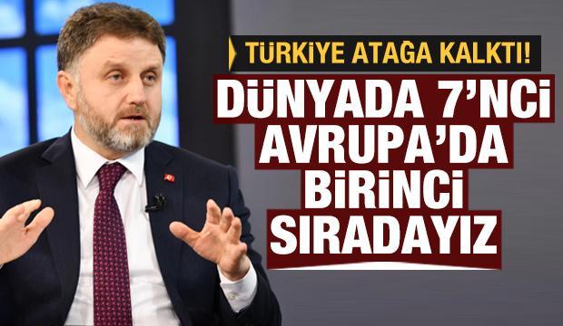 Fahrettin Poyraz: Türkiye dünyada 7, Avrupa'da birinci sırada