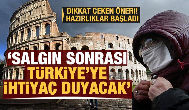 Hazırlıklar başladı! Salgın sonrası Türkiye'ye ihtiyaç duyacak