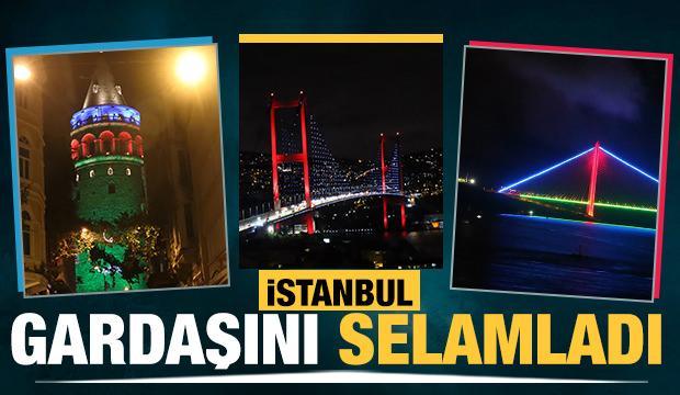 """İstanbul """"Gardaş""""ını selamladı"""