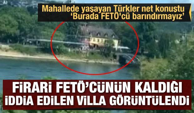İşte firari Zekeriya Öz'ün Almanya'da kaldığı iddia edilen o villa!