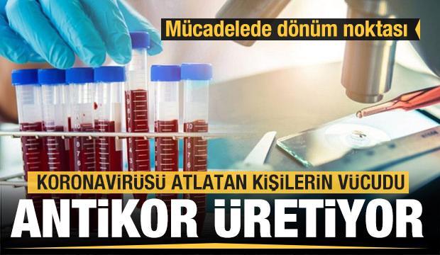 Koronavirüsle mücadelede dönüm noktası! Antikor müjdesi