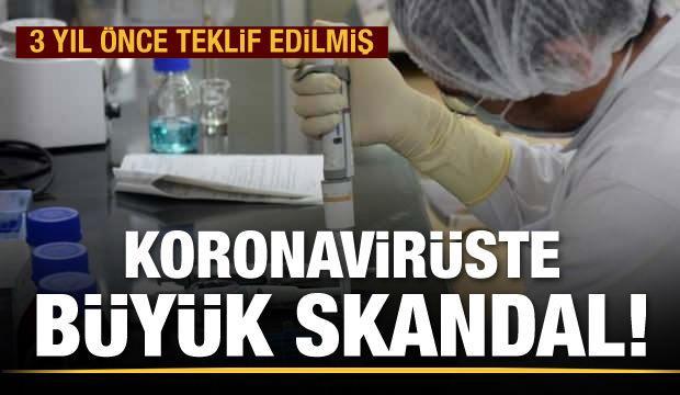 Koronavirüste büyük skandal!