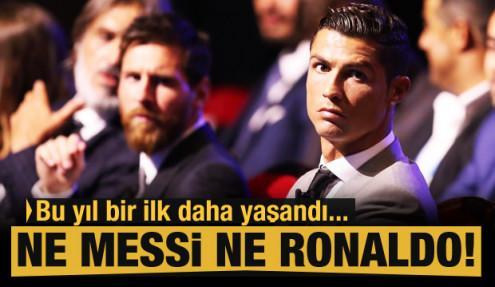 Messi ve Ronaldo zirveyi kaptırdı!