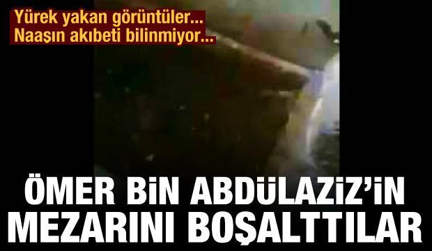 Ömer bin Abdülaziz'nin mezarını boşalttılar! Naaşın akıbeti bilinmiyor