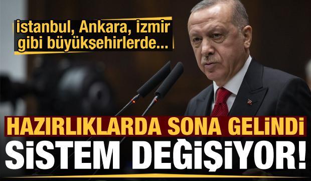 Sistem değişiyor! İstanbul, Ankara, İzmir gibi büyükşehirlerde...