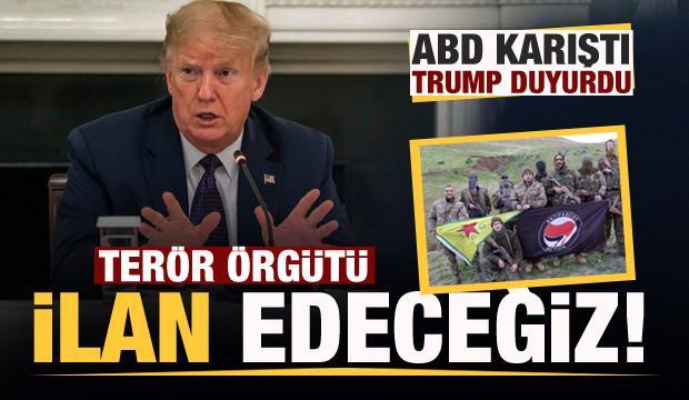 Trump duyurdu: ANTIFA'yı terör örgütü ilan edeceğiz