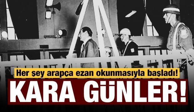 Türkiye tarihinin kara günü: 27 Mayıs