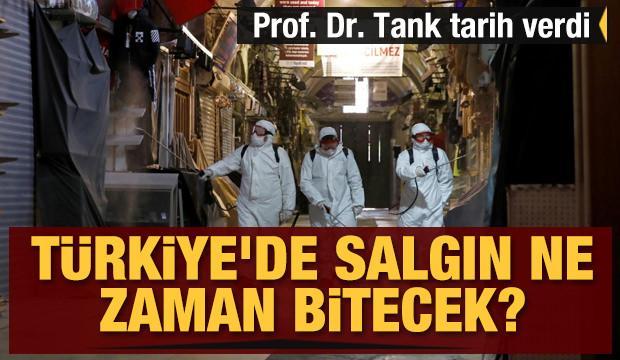 Türkiye'de salgın ne zaman bitecek? Tarih verdi