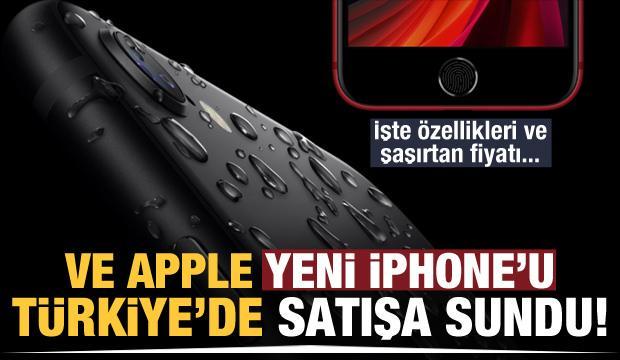 Yeni İphone SE, Türkiye'de satışa çıktı! İşte özellikleri ve şaşırtan fiyatı
