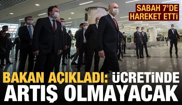 YHT seferleri başladı! Bakan Karaismailoğlu bilet fiyatlarını açıkladı