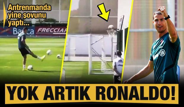 Yok artık Cristiano Ronaldo!