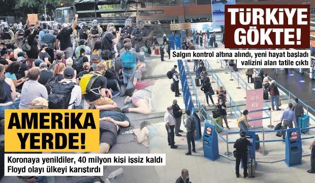 5 Haziran Cuma gazete manşetleri - Amerika yerde, Türkiye gökte!