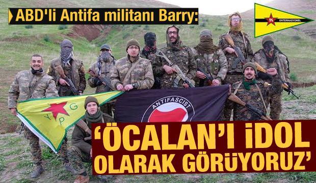 ABD'li Antifa militanı Barry: Öcalan'ı idol olarak görüyoruz