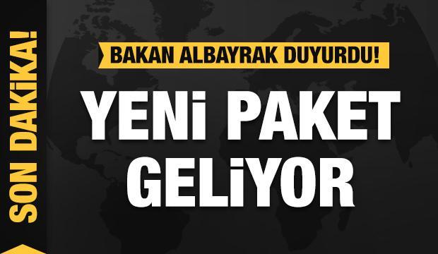 Bakan Albayrak duyurdu: Yeni istihdam paketi geliyor