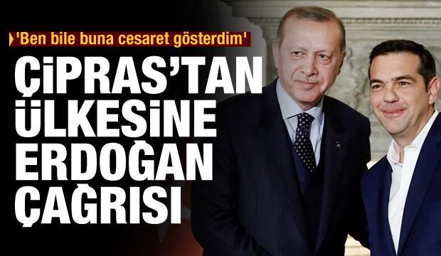 Çipras'tan ülkesine Erdoğan çağrısı: Ben bile bunu yapmaya cesaret gösterdim