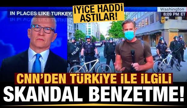 CNN muhabirinden küstah Türkiye benzetmesi