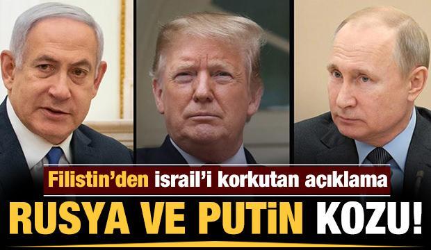 Filistin'den İsrail ve ABD'ye Putin kozu