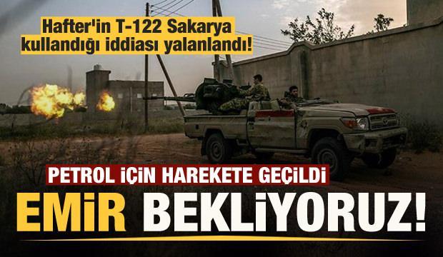 Libya'dan son dakika: 'Hafter-T-122 Sakarya' iddiası yalanlandı!