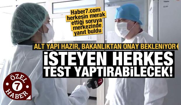 Her isteyen yaptırabilecek: Antikor Testi bakanlıktan onay bekliyor
