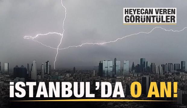 İstanbul'da heyecan verici görüntüler