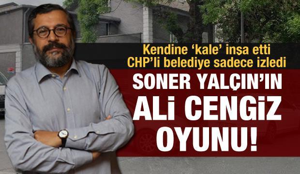 İşte Soner Yalçın'ın kaçak kalesi: CHP'li Beşiktaş Belediyesi göz yumdu