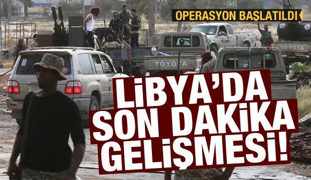 Libya'da son dakika gelişmesi: Operasyon başlatıldı! Sirte geri alındı