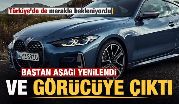 Merakla beklenen yeni BMW 4 Serisi görücüye çıktı!